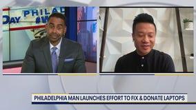 Philadelphia man launches effort to fix, donate laptops