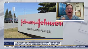 An advisory committee will be held Friday to discuss ending pause of Johnson and Johnson vaccine