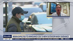 Dr. Mike weighs in on anticipated outdoor mask guidance update