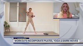 Celebrity trainer, former professional dancer shares workout online