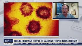 Double mutant variant of the coronavirus found in California