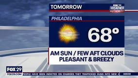 Weather Authority: Calm overnight leads to more spring sunshine on Monday