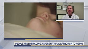 New trend sees people embracing more natural approach to aging