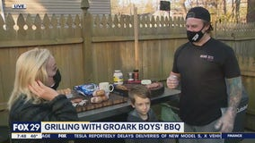 Grilling Steaks with Groark Boys' BBQ