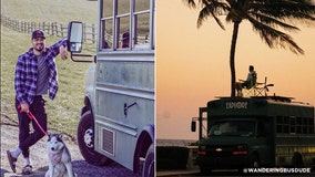 Wandering Bus Dude: Meet the Pa. man traveling the country in a converted school bus