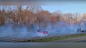 Man charged after video shows drivers doing donuts on Capital Beltway