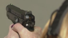 Many women are buying guns for the first time as gun sales across the Delaware Valley soar
