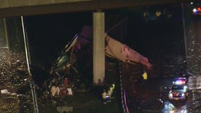 2 killed in tractor-trailer crash on New Jersey Turnpike in Mercer County