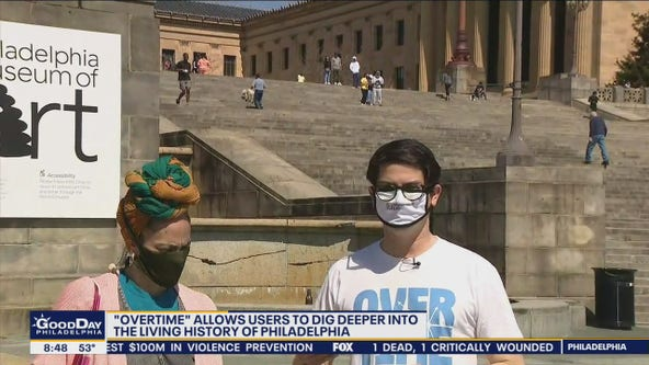 Overtime app allows users to dig deeper into living history of Philadelphia