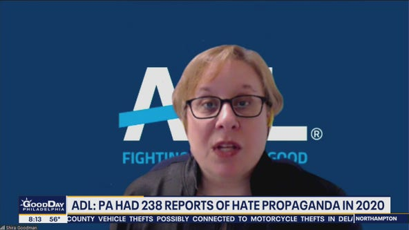 ADL: White supremacist propaganda reached all time high in 2020