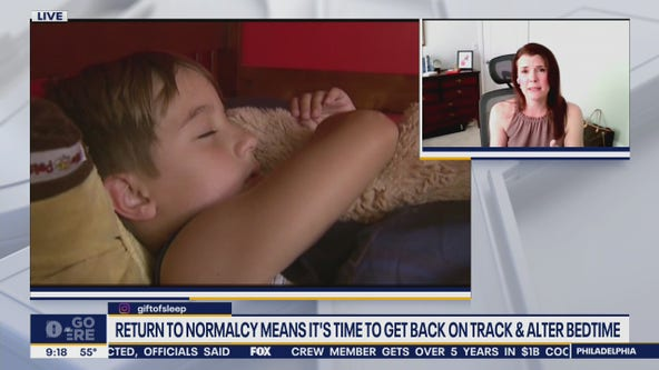 Pediatric sleep specialist shares tips for getting kids to bed on time