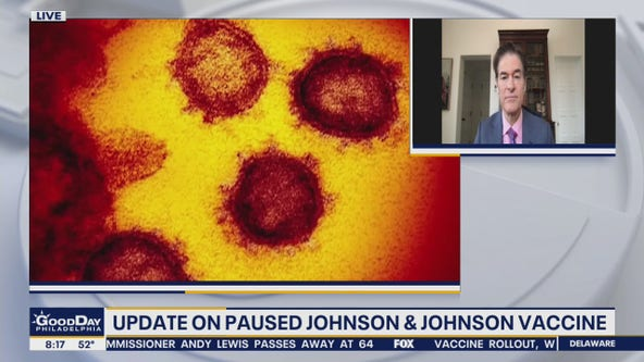Dr. Oz discusses paused Johnson and Johnson vaccine