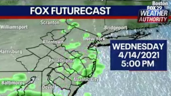 Weather Authority: Partly cloudy, mild with a chance of showers Wednesday
