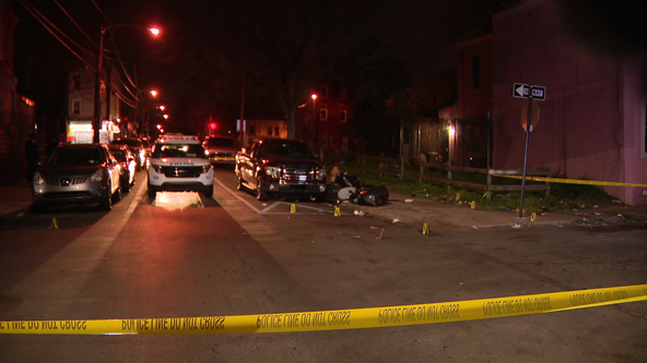 Man, 24, shot multiple times and killed in North Philadelphia