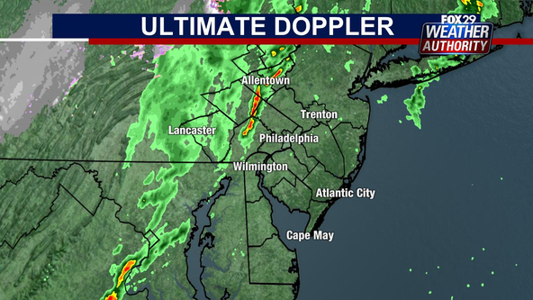 Weather Authority: Severe Thunderstorm Watch issued for most of Delaware Valley