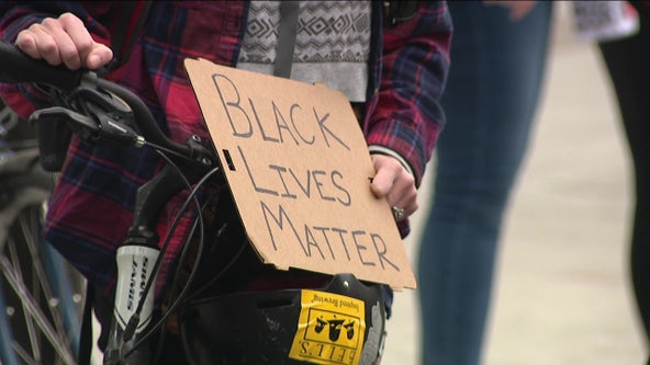 Protests in Philadelphia to denounce police brutality remain peaceful