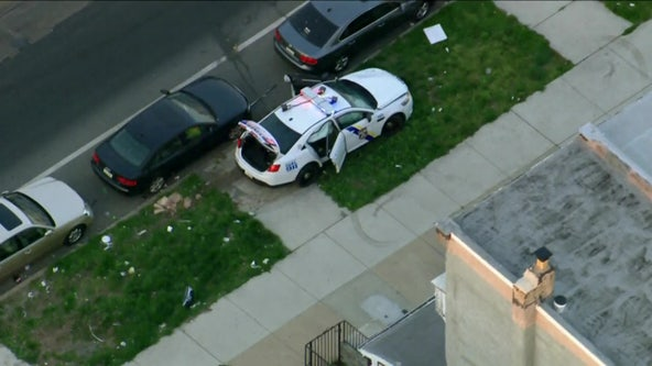 Philadelphia police officer hospitalized after crash in Hunting Park