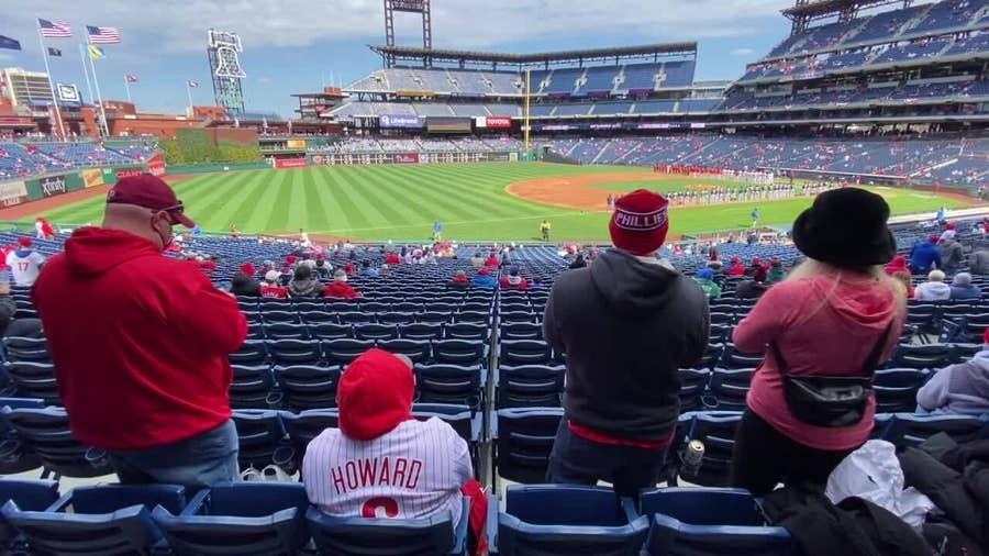 Sights and sounds from Phillies Opening Day 2021
