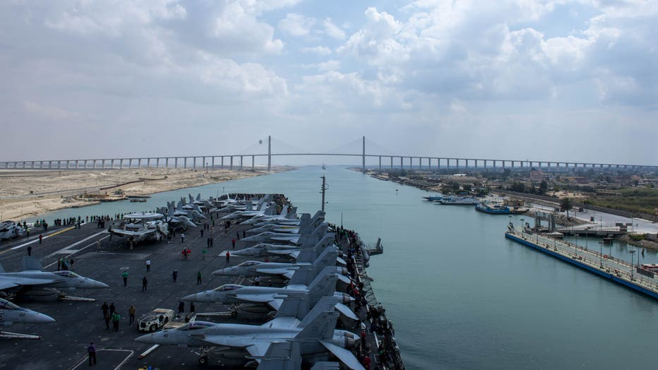 Ike Supports Naval Operations in 5th Fleet Area of Operations