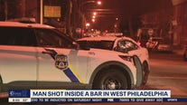 Man shot inside bar in West Philadelphia