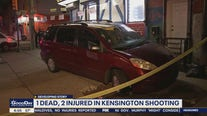 1 dead, 2 injured in Kensington shooting