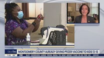 Montgomery County is giving out Pfizer vaccine to kids 12-15 before CDC regulations