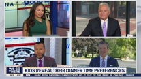 Kids reveal their dinner time preferences