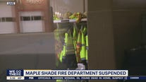 Maple Shade Fire Department suspended