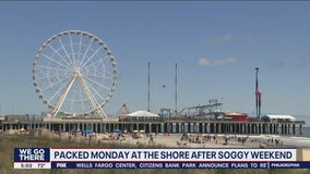 Crowds return to Atlantic City after a soggy Memorial Day weekend