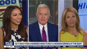 Is it okay for a married man to buy a woman drinks at the bar?