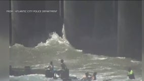 Multiple children rescued from ocean in separate incidents in Atlantic City