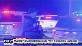 Multiple people shot during house party in Bridgeton, New Jersey, officials say