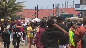 Memorial Day finds the Jersey shore packed, after soggy weekend
