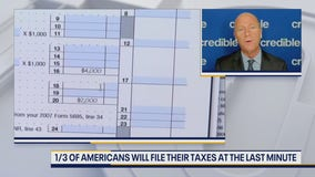One third of Americans will file their taxes last minute
