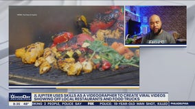 NJ man uses videography skills to create viral food videos