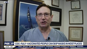 CDC: Fully vaccinated people can skip masks in most places