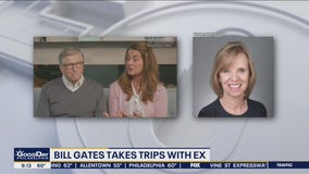 Bill Gates takes trips with ex-girlfriend with wife's approval