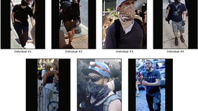 FBI: 7 wanted in connection to arson incidents during unrest in Philadelphia last summer