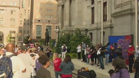 George Floyd remembered by Philadelphia group at City Hall