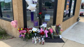 Makeshift memorial grows for employee slain during robbery in New Castle County