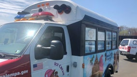 Bucks County police department unveils 'Copsicle' ice cream truck for community outreach