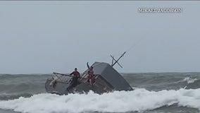 Four dead, dozens injured after vessel overturns off San Diego coast in apparent smuggling operation