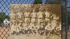 Baseball fans recall game between New York Yankees and Delco amateur team