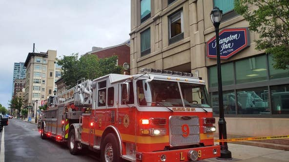 1 killed in fire at Hampton Inn in Center City, officials say