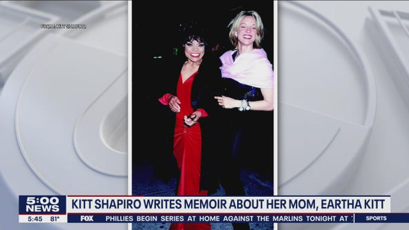 Eartha Kitt's daughter writes memoir about Hollywood legend