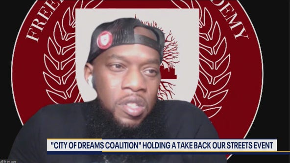 Freeway, 'City of Dreams Coalition' hold take back our streets event