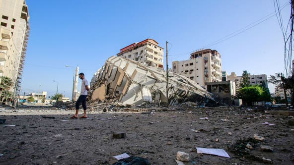 Gaza death toll from Israeli airstrikes climbs to 43 Palestinians, including children