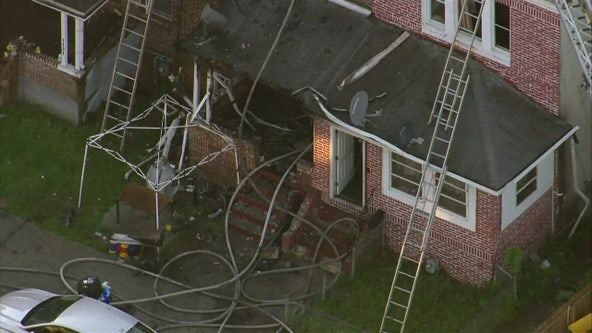 Officials: At least 2 hurt, several displaced after fire damages rowhome in Chester