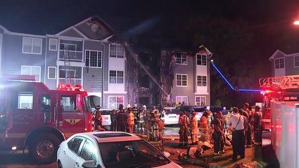 Officials: 3 injured, nearly 20 displaced in 2-alarm at Delran apartment building