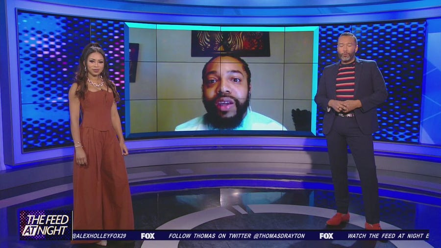 Antoine Cunningham discusses his viral videos on The Feed AT Night